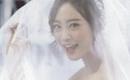 KARAのヨンジがウェディングドレスのグラビアを公開