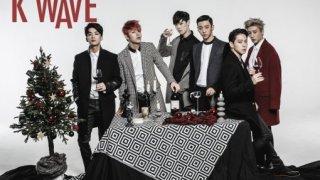 B.A.P、韓流マガジン「KWAVE」グラビアでクリスマスの悪童に変身
