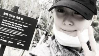 """BoAがファンが造成した""""BoAの森""""を訪問「ありがとうございます」"""