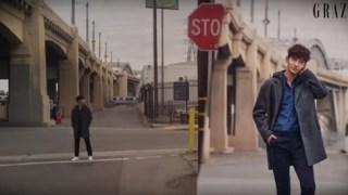 東方神起チャンミン『GRAZIA』のグラビア撮影現場フィルム映像が公開