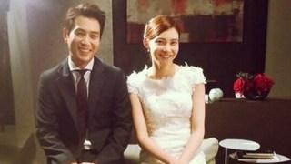 """""""熱愛を認めた""""チュ・サンウク&チャ・イェリョン、ドラマのウェディング写真"""