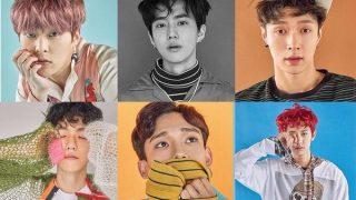 EXO、6/9にアルバム「EX'ACT」を発表、ダブルタイトル曲でカムバック