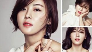 ハ・ジウォン、化粧品の新広告イメージを「ELLE」1月号で公開