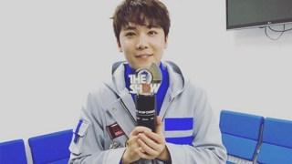イ・ホンギ、ソロ曲「INSENSIBLE」音楽番組で初の1位を獲得