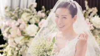 女優キム・ジョンウン、結婚式の写真を公開