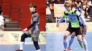 「2016アイドル陸上大会」BEASTドゥジュンとVIXXレオが激しい烈戦を予告