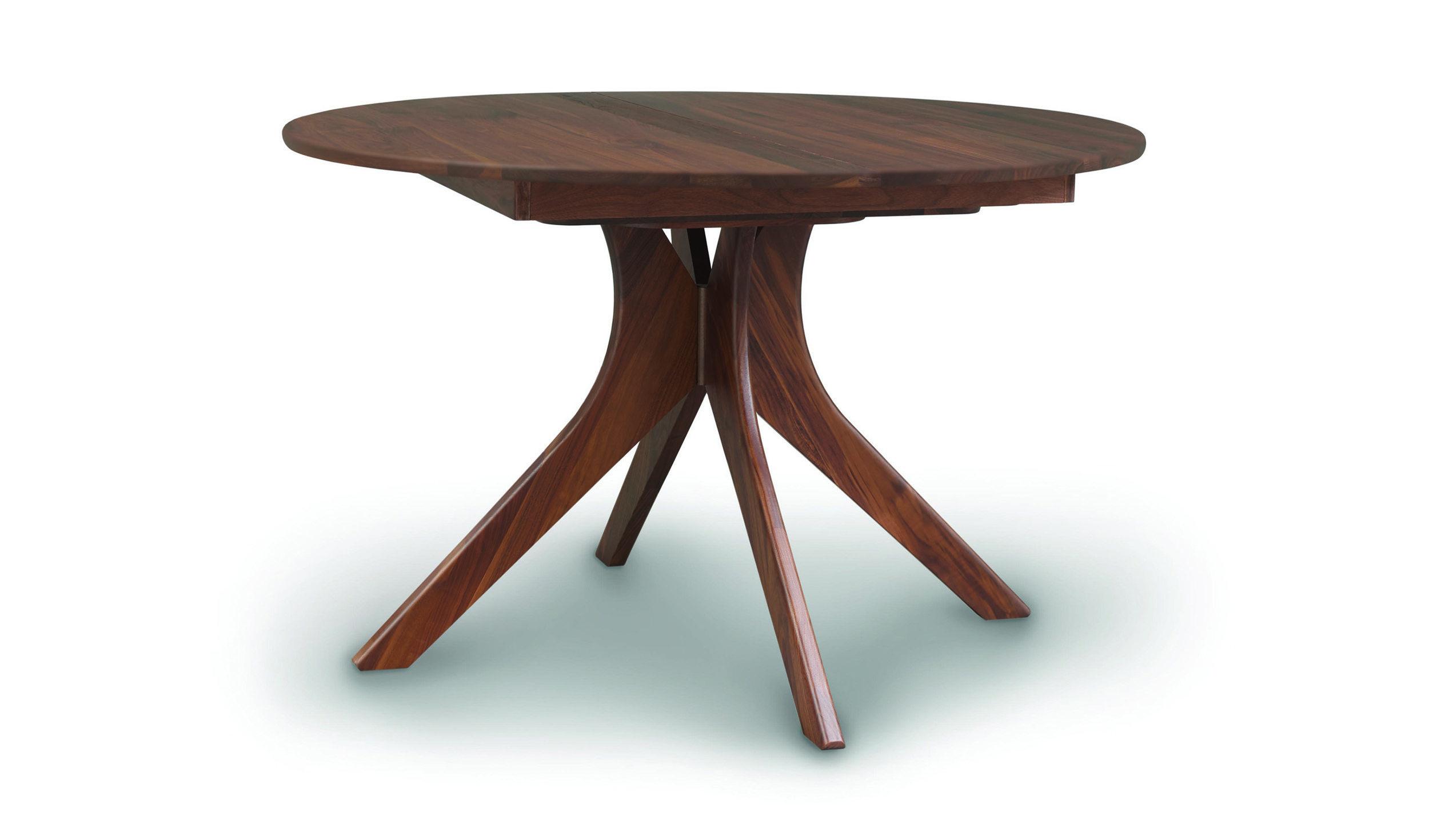 Round Dining Table With Extensions Audrey Round Dining Table With Extension