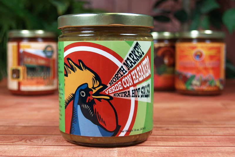 CaJohn's Salsa Verde Label