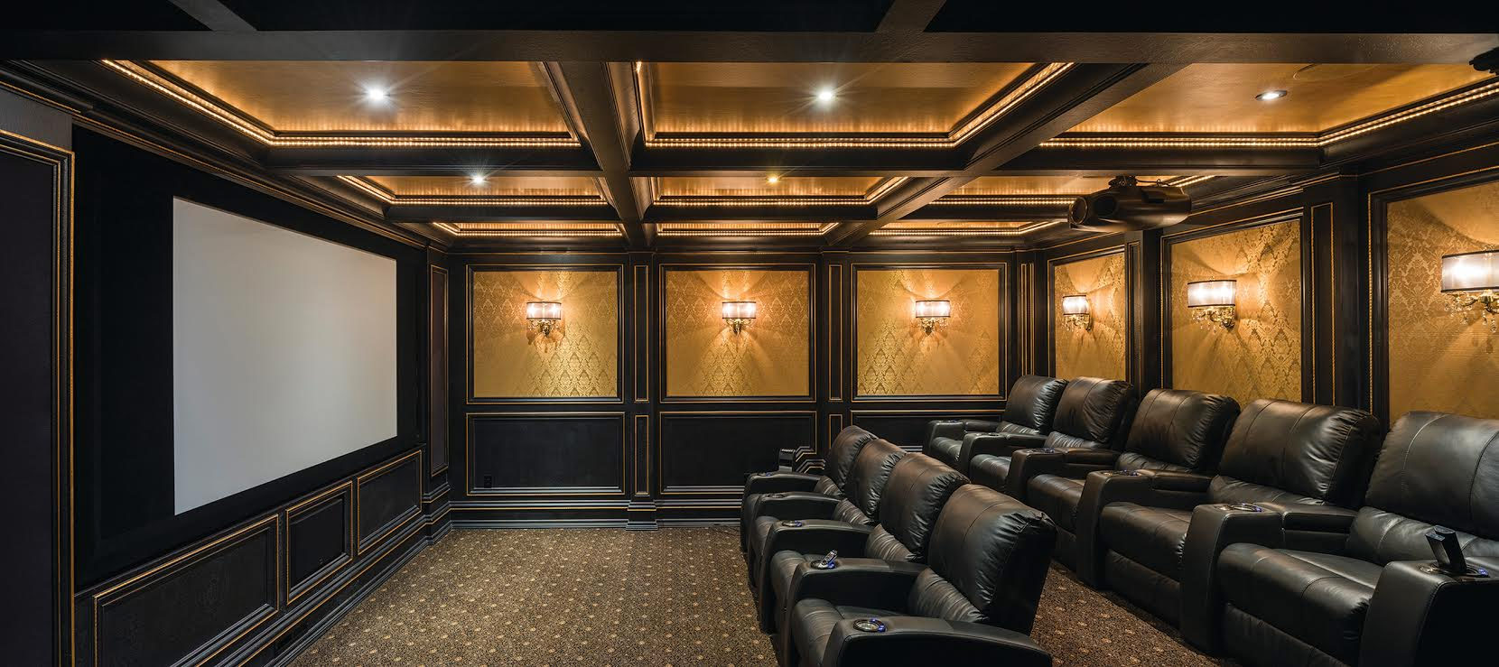 Home Theater Room Home Theater Media Rooms Hanson Audio Video
