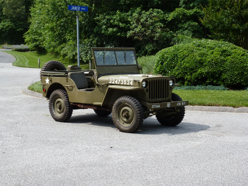 Veteran\u0027s jeep up for adoption (1945 Willys MB SOLD) Hanson Mechanical