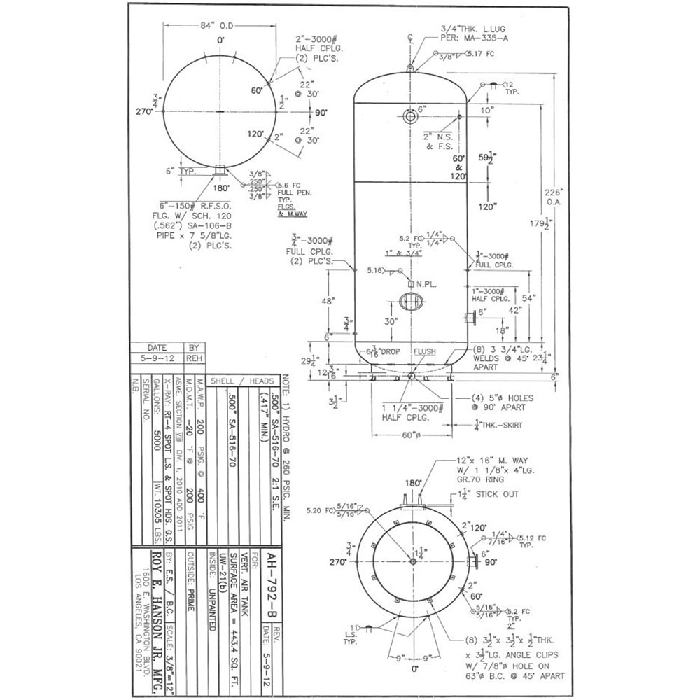 7400 air tank schematic