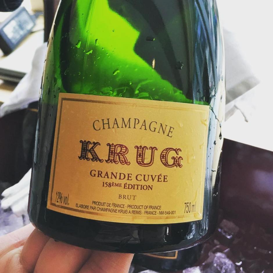 Champagne Krug Grande Cuve  158me dition  the newhellip