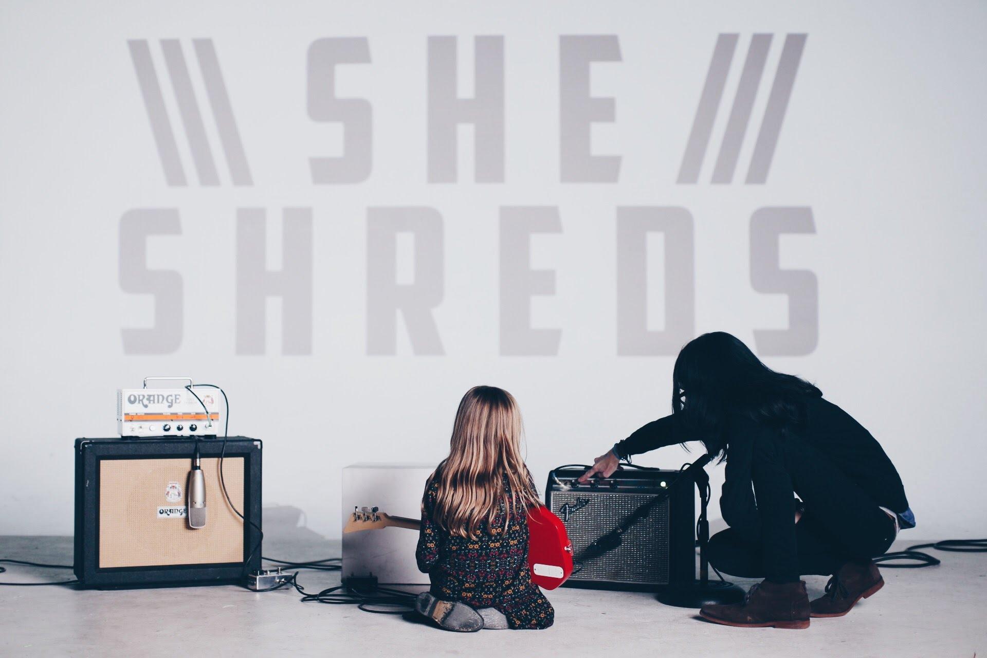 sheshreds