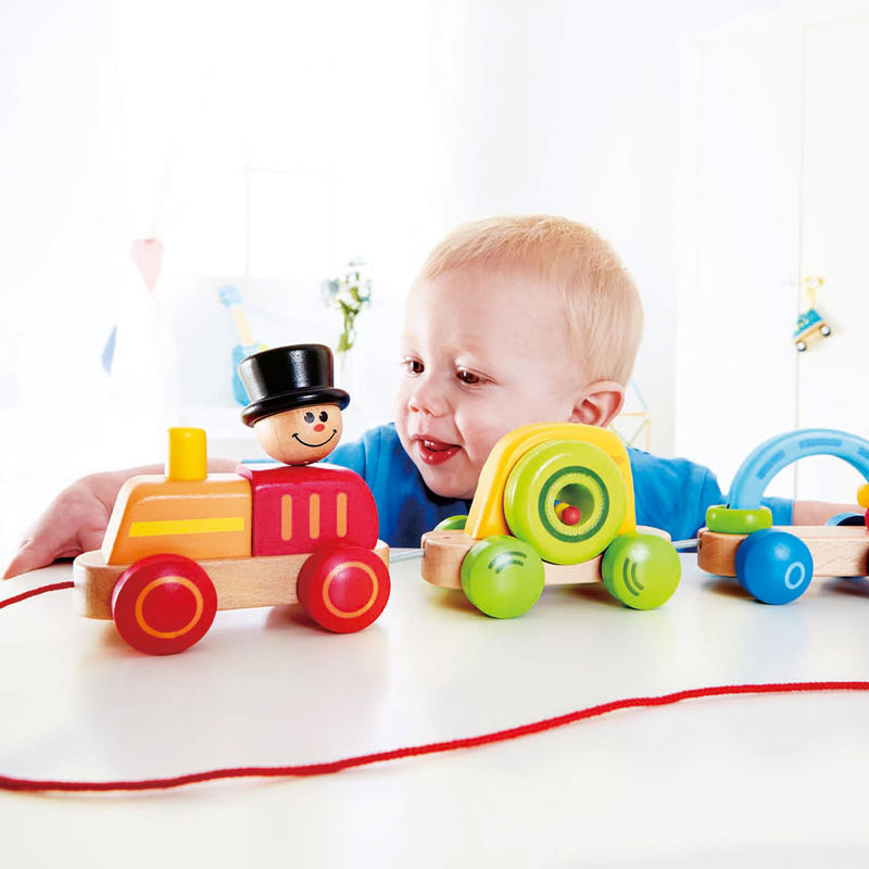 Infant To Toddler Rocker Instructions Triple Play Train E0431 Hape Toys