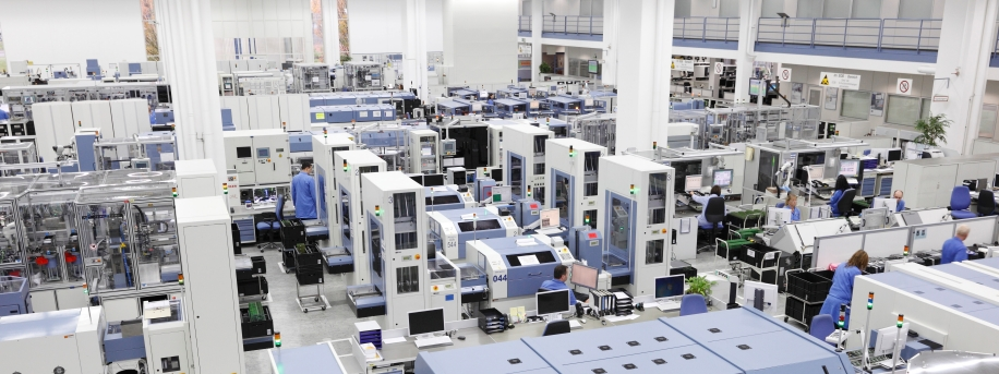 Siemens electronics plant Germany