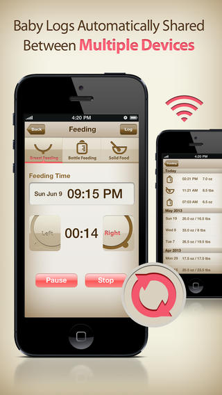 MammaBaby App for iPhone