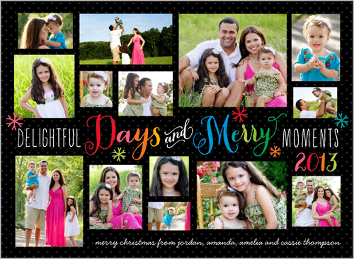 Merry Days Shutterfly Holiday Card