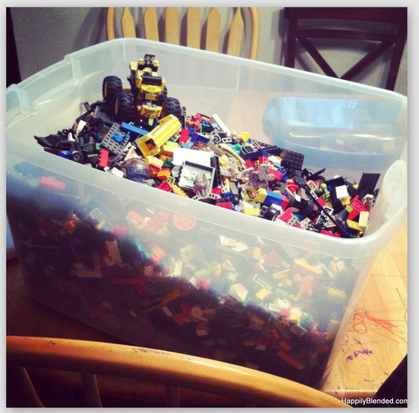 HappilyBlended.com Legos Bringin Kids together for Ages