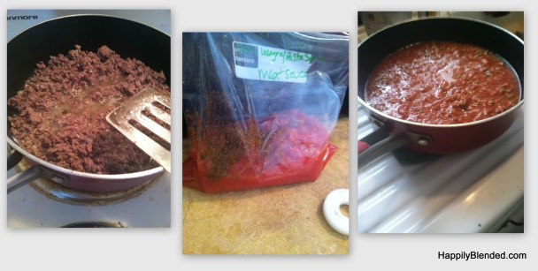 Brandy Ellen's Meat Sauce Recipe