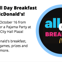 All Day Breakfast McDonald's Event