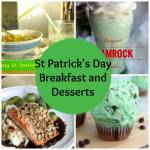St Patricks Day Breakfasts and Desserts