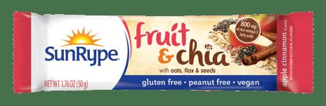 SunRype Energy & Fruit & Chia bars