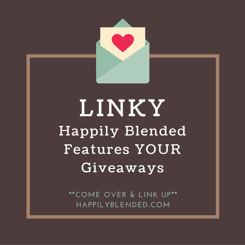 Saturday Giveaway Linky #happilyblended #contestalert