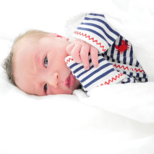 Major James  One Day Old Working on his birthhellip