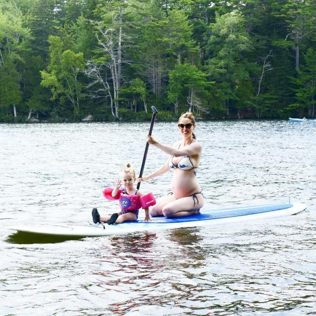 One Mama Two Babies and a Paddleboard A love storyhellip
