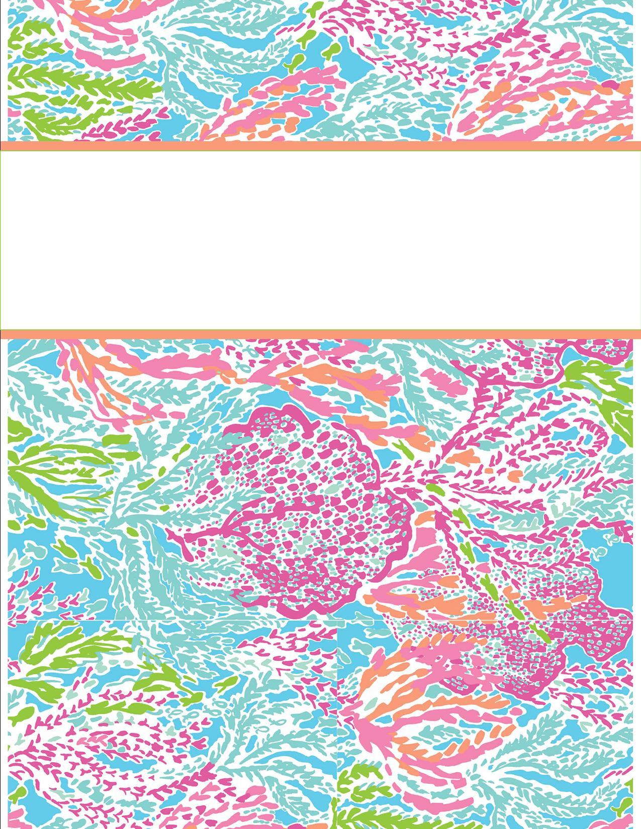 girly binder covers