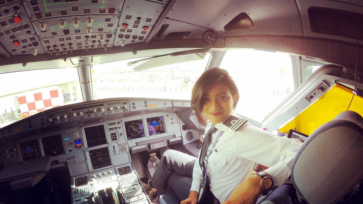 #WomenAtWork - A First Officer
