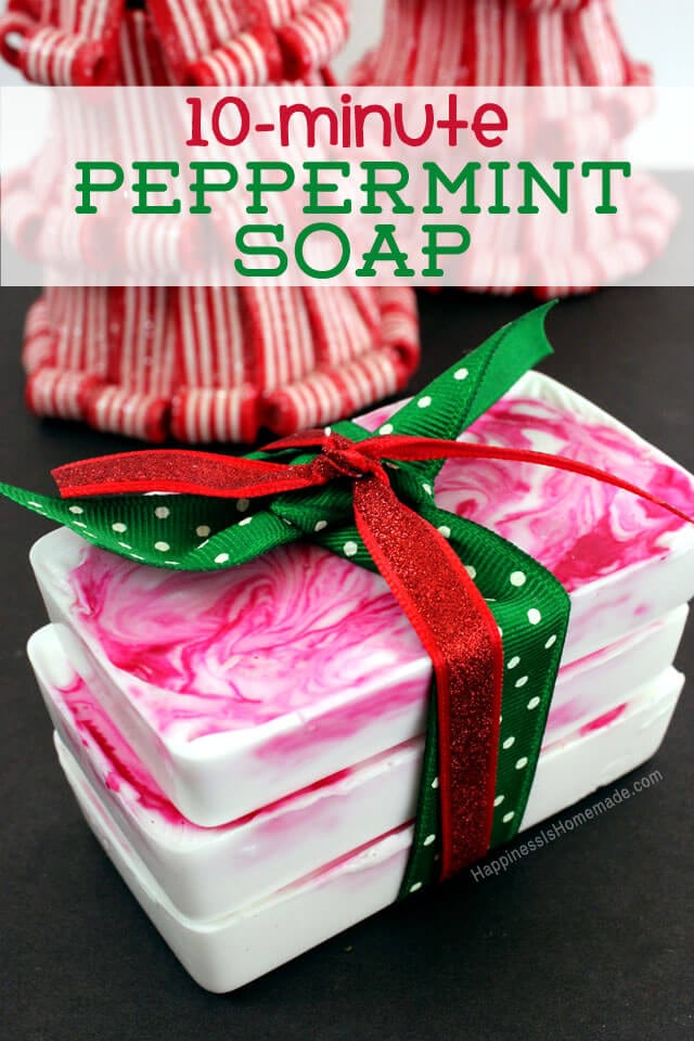 Schnelle Geschenke 10-minute Diy Holiday Gift Idea: Peppermint Soap