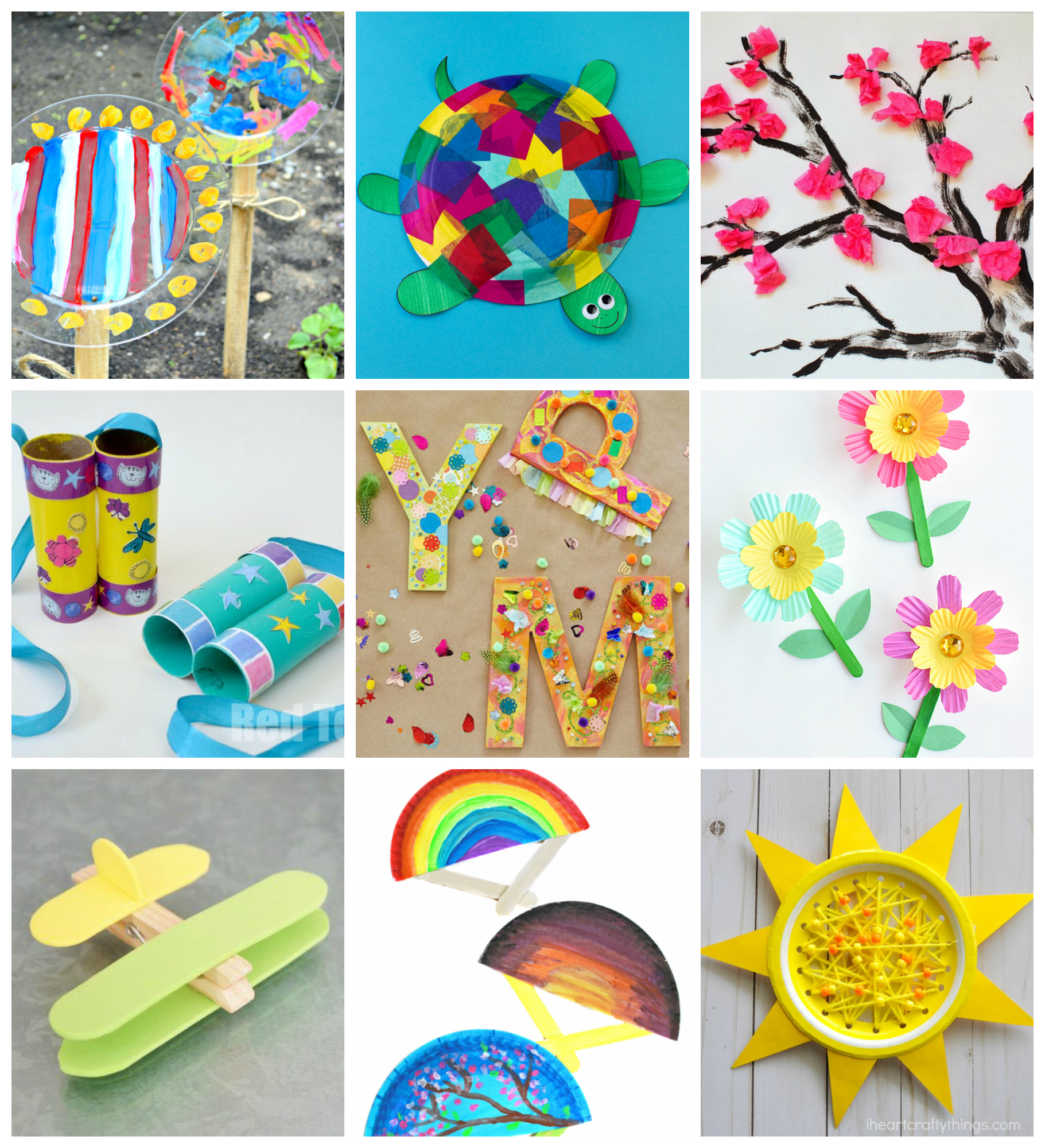 Art Decorating And Crafting 50 Quick Easy Kids Crafts That Anyone Can Make Happiness Is