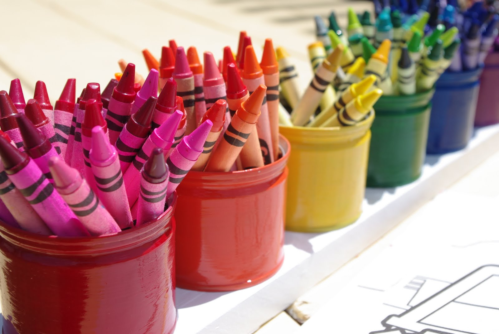 Homemade Pencil Holders Upcycled Montessori Style Crayon Holder Tutorial Happiness Is