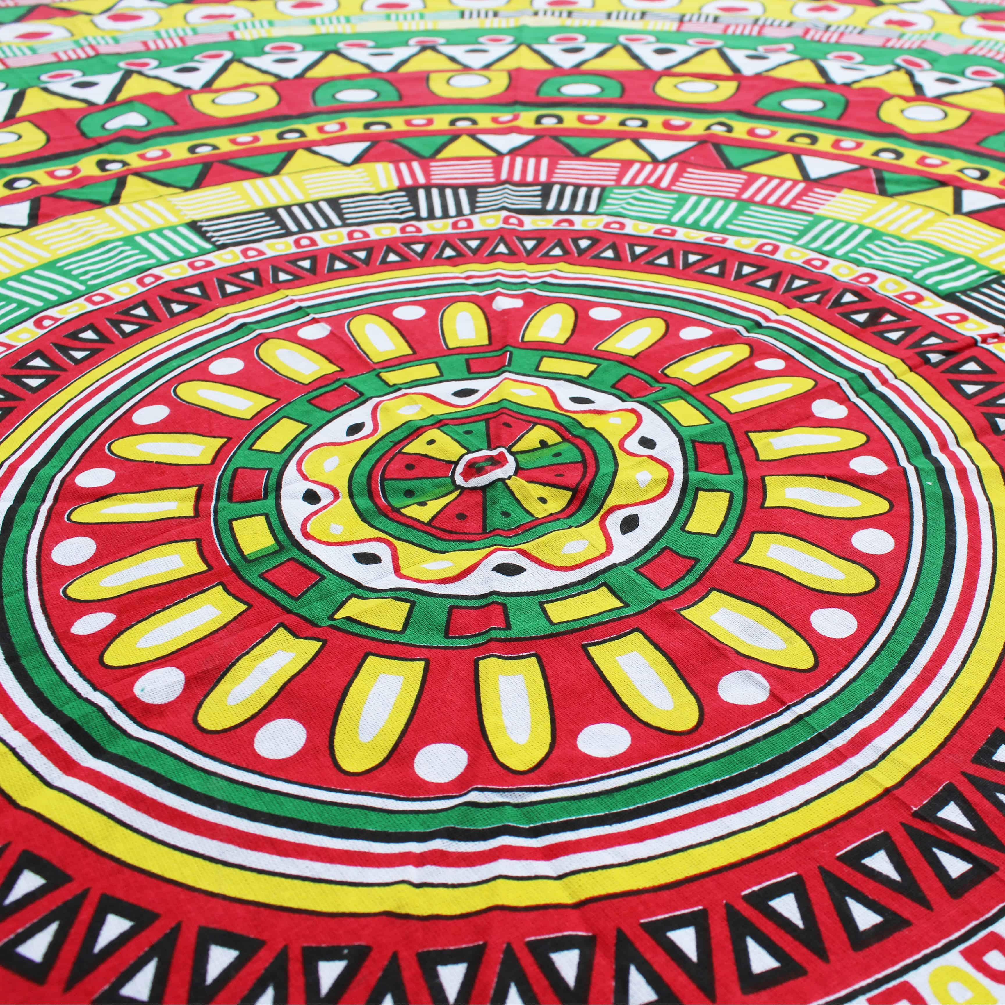 Aztec Kleed Mandala Roundie Jamaican Aztec Happy Hippies