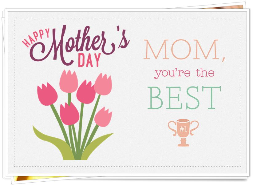 Happy Mothers Day 2017 Wishes  Greeting Cards From Daughter to Mom - greeting