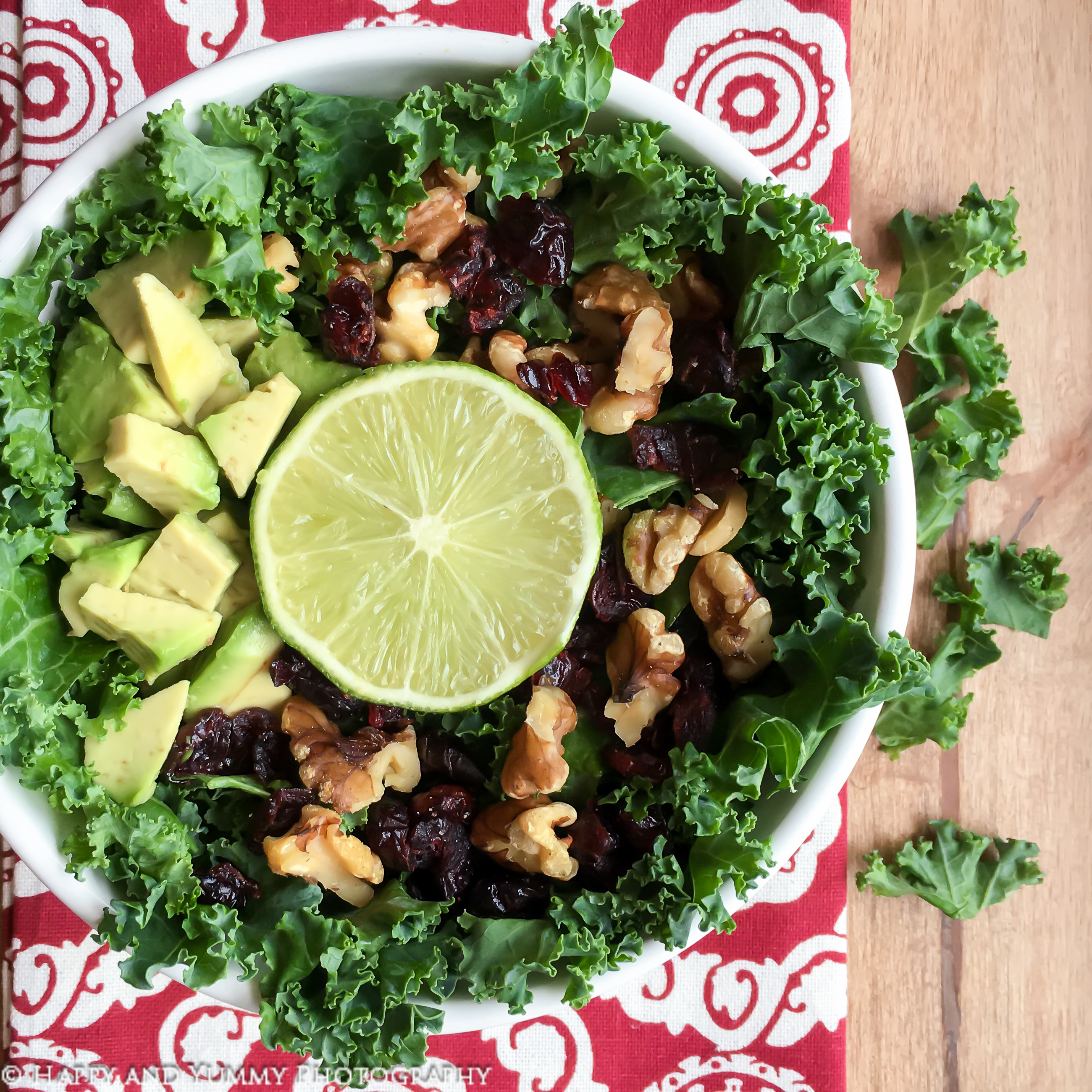 Lee's Kale and Avocado Salad