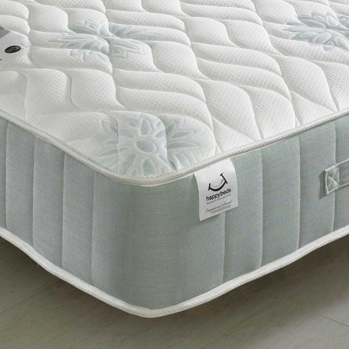 Single Pocket Sprung Memory Foam Mattress New Sensation 1200 Pocket Sprung Memory Foam Mattress