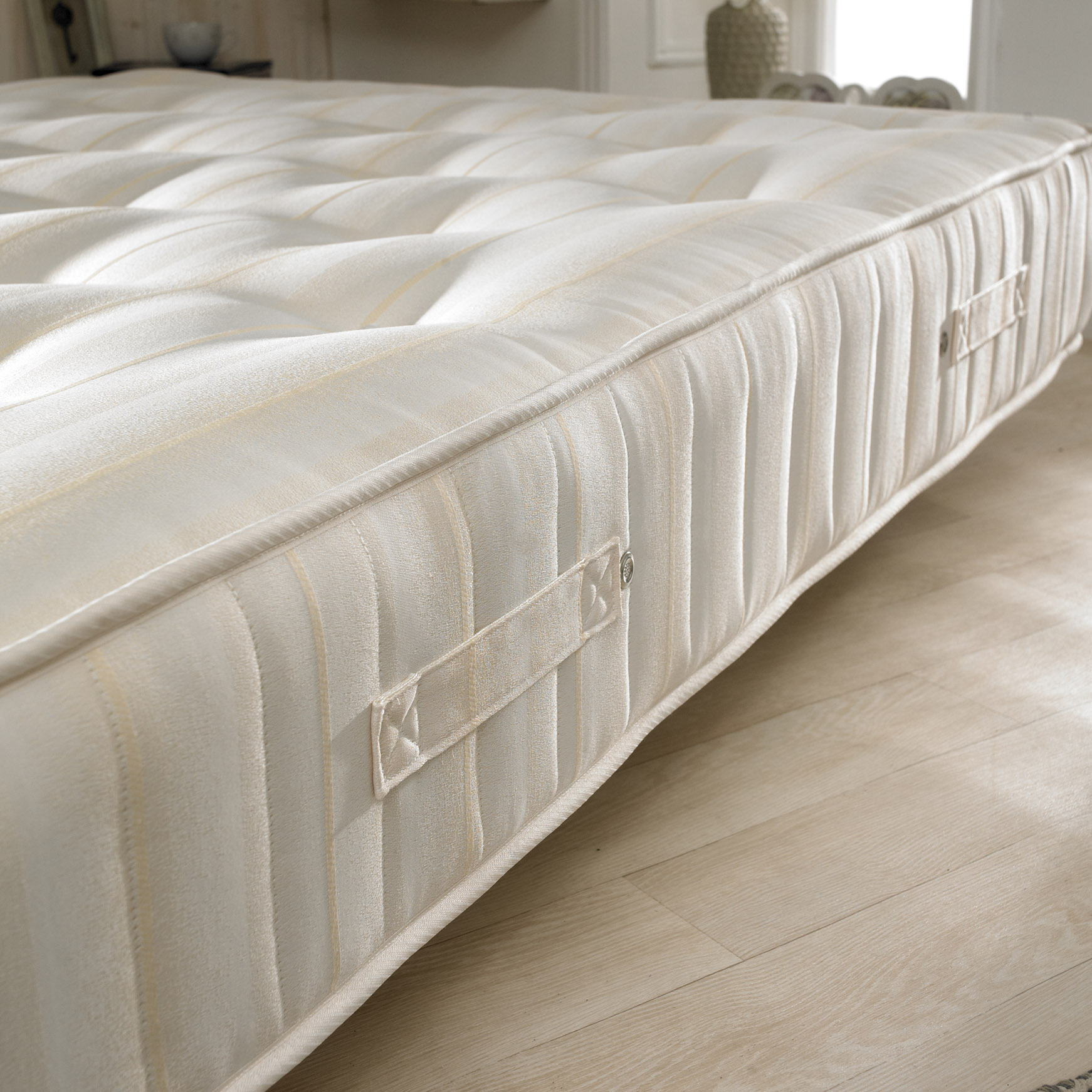 Bonnell Sprung Mattress With Memory Foam Layer Happy Beds Supreme Ortho Orthopaedic Mattress Handmade