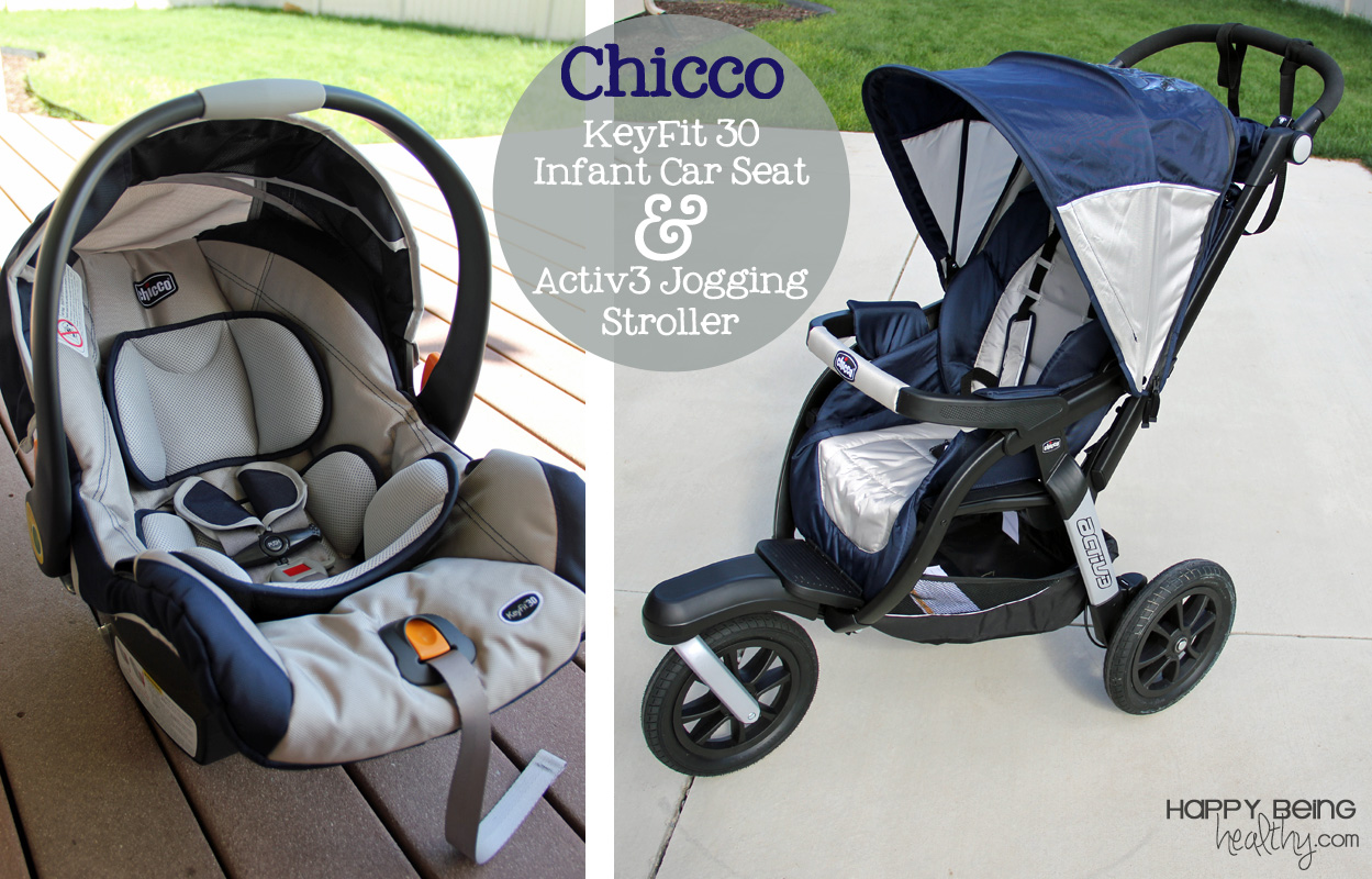 Baby Pram And Car Seat Combo The Chicco Keyfit 30 Car Seat And Activ3 Jogging Stroller