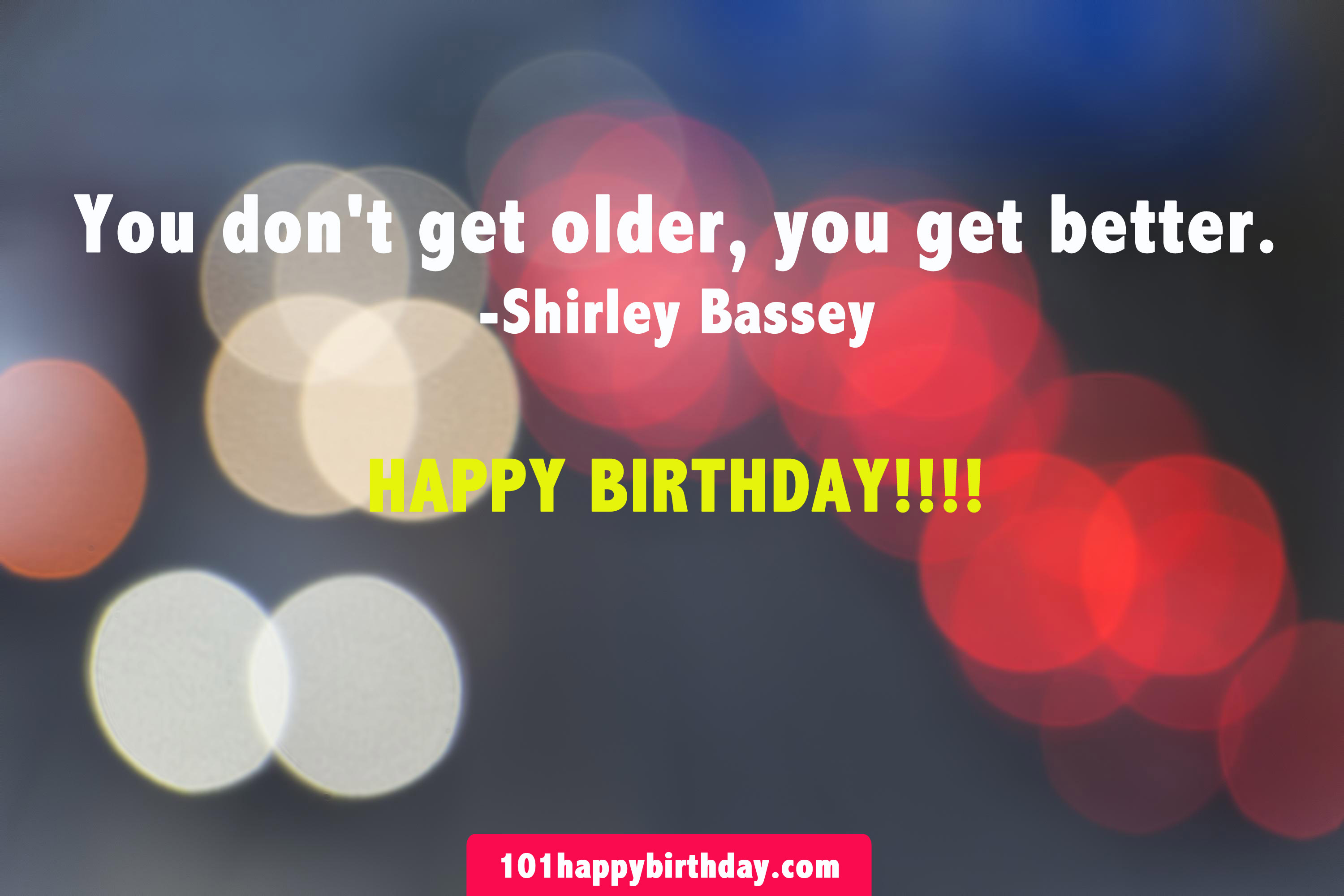Lummy You Dont Get Er You Get Better Shirley Bassey Happy Birthday Happy Birthday Don Images Happy Birthday Donkey Meme gifts Happy Birthday Don