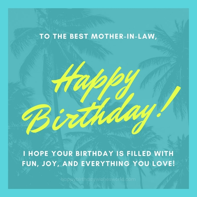 120 Happy Birthday Mother-in-Law Wishes - Find the perfect birthday wish
