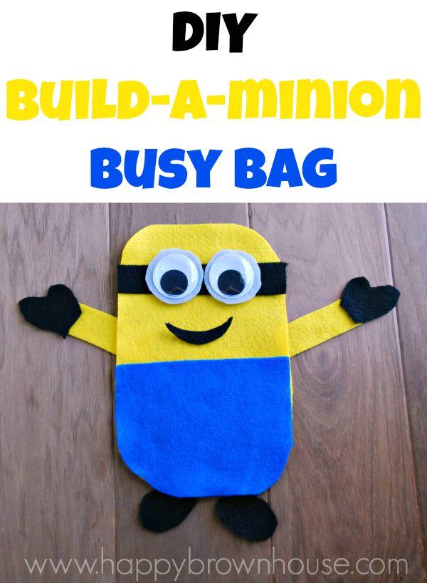 Build-a-Minion Busy Bag