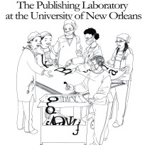 Poster for the Publishing Lab at UNO