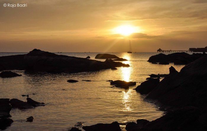 Sunset of the Andaman Sea