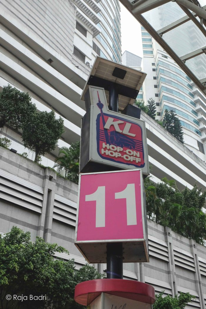Bright coloured KL HOHO sign