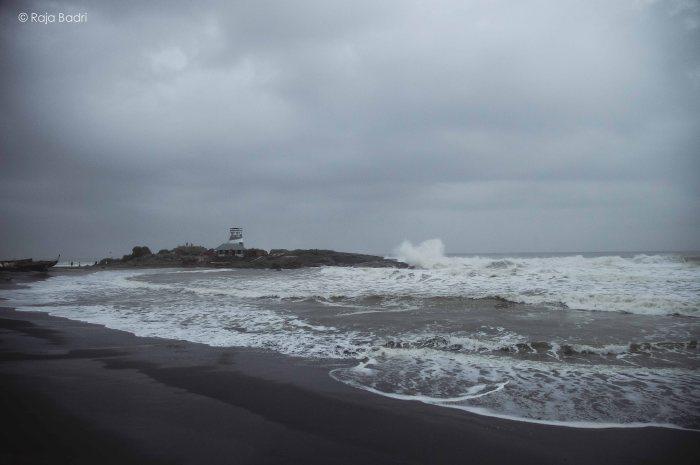 Monsoon at Hawar Beach
