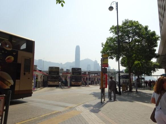 getting to Star Ferry - Tsim Sha Tsui