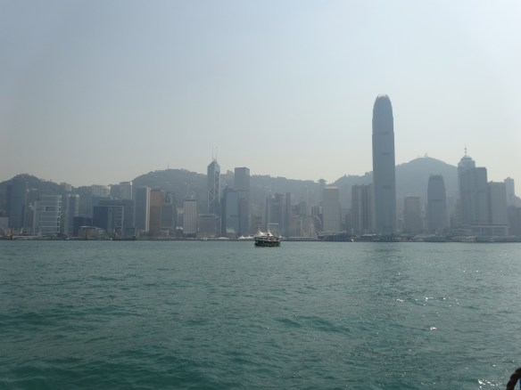 Finally on our way to Hong Kong Island