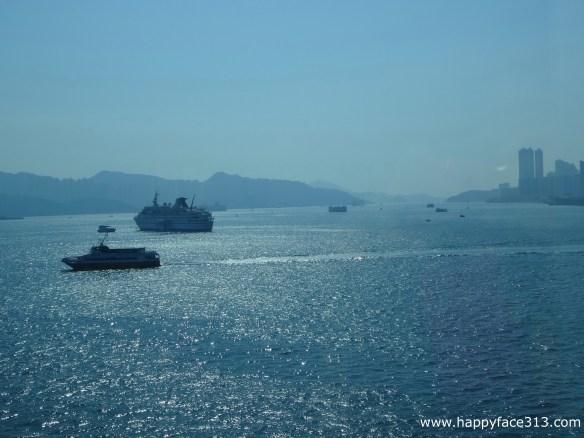 afloat in Hong Kong